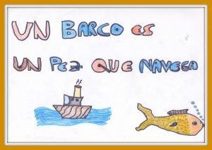 Un barco es un pez que navega