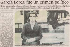 Fusilamiento de Lorca